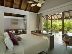 Dusit Thani Maldives - Surrounded by beautiful coral reefs and a turquoise lagoon. With a private beachfront, tree-top spa and free Wi-Fi. The resort offers guests diving and snorkelling. Mudhoo Island in Baa Atoll, #Maldives. From $ 1,069/Night http://VIPsAccess.com/luxury-hotels-maldives.html