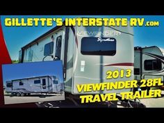 2013 VIEWFINDER 28FL FRONT LIVING TRAVEL TRAILER BY CRUISER RV --- Gillette's Interstate RV Rv Videos, Recreational Vehicles, Youtube, Travel, Viajes, Camper Van, Campers, Trips, Traveling