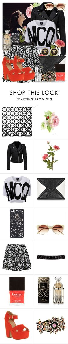 """*be the best*"" by maryterojasf ❤ liked on Polyvore featuring Forever New, OKA, McQ by Alexander McQueen, Vince Camuto, DKNY, Butter London, Lipsy, Office, Betsey Johnson and Urban Decay"