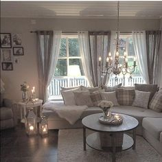 Ideen für wohnzimmer gardinen  Gardinen Ideen … | Curtains | Pinte…