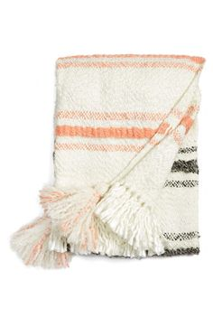 Nordstrom at Home Nordstrom at Home 'Taylor Stripe' Throw Blanket available at #Nordstrom