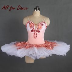 804920ba7e US $290.0 |Aliexpress.com : Buy 017 New Arrival Top Quality Women/Gilr  Prefessional Ballet Tutu Ballerina Dance Costume Pink Dance Tutu With White  Tulle ...