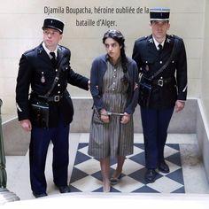 Djamila Boupacha, héroine oubliée de la bataille d'Alger.