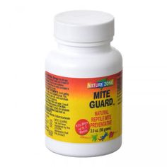Nature Zone Mite Guard naturally prevents mite infestation in reptile terrariums and cages. Continuously kills mites for up to 3 weeks. Made with clove, rosemary and thyme oils. Safe for reptiles.