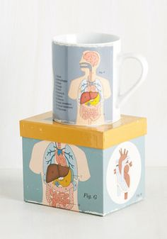 New Arrivals - You Get the Biologist Mug in Grey