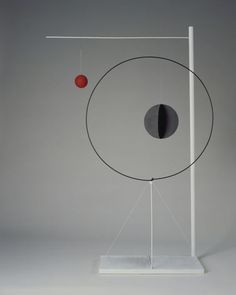Object with Red Ball alexander calder