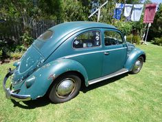 1957 Oval Window VW Beetle