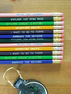 The Traveler Pencil Set by Earmark Social Goods Inc.