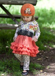 Giggle Moon ``Pumpkin`` Tutu Dress