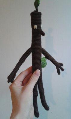 Stick Man  #crochet #amigurumi #stickman http://www.ravelry.com/patterns/library/stick-man