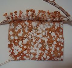 Chiyoko Tanaka, Mud Dyed Cloth - Twig and White Dots