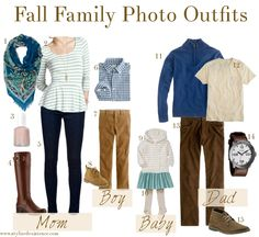 Fall Family Picture Outfit Ideas | What to Wear for Family Photos