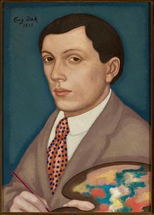 Eugeniusz Zak (1884 Mogilno, near Minsk –  1926 Paris), 1911