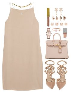 """""""G L A M O R O U S"""" by daisym0nste ❤ liked on Polyvore featuring T By Alexander Wang, Valentino, Chanel, Hermès, Givenchy, Marc by Marc Jacobs, Michael Kors, LASplash, Maison Margiela and Forever 21"""