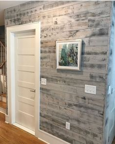 5 Easy Peel and Stick Shiplap Designs That Will Impress Stick on Shiplap In Reclaimed Weathered Wood White Brings The Outside In The post 5 Easy Peel and Stick Shiplap Designs That Will Impress appeared first on Wood Diy. Peel And Stick Shiplap, Peel And Stick Wood, Home Renovation, Home Remodeling, Stick On Wood Wall, Faux Wood Wall, Diy Wood Wall, Shiplap Wall Paper, Wood Sticks