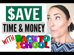 HOW TO SAVE TIME &MONEY WITH BACK TO SCHOOL  HOW TO SAVE MONEY FAST  BACK TO SCHOOL HACKS & TIPS In this video I talk about the many ways that I save time and money during back to school time. I always believe that time is money and since it takes time to earn money they are both very very important resources. I share some of the tips and hacks that I use to save time and money when it comes to back to school. We don't have to go crazy or broke during back to school time:) What do you do to…
