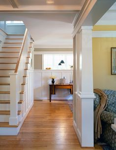Arlington Bungalow - craftsman - entry - dc metro - Moore Architects, PC