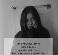 .... Miluju citáty ..... Jokes Quotes, Me Quotes, Emotional Pain, Sad Life, Powerful Words, Wallpaper Quotes, Positivity, Mood, Thoughts