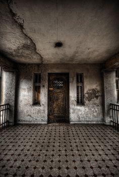 abandoned children's home