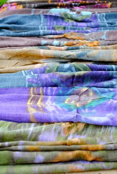 Why pick just one Thai scarf? Tie Dye Skirt, Scarves, Skirts, Scarfs, Skirt, Skirt Outfits, Dresses