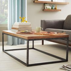 Box Frame Coffee Table - Café