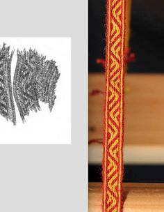 Card Weaving, Tablet Weaving, Weaving Patterns, Loom, Medieval, Textiles, Creative, Crafts, Inspiration