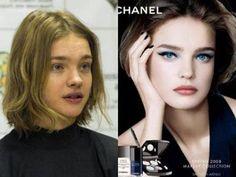 natural vs. photoshop