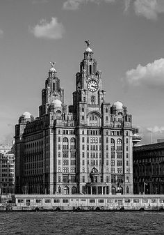 Royal Liver Building - Liverpool, UK. Visited in 2002 with Nan and Pop.