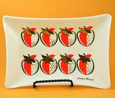 Georges Briard Strawberry plate!