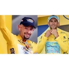 By @moacycling: #vincenzonibali e #marcopantani lo squalo e il pirata July 27, 2014 at 08:19AM http://ift.tt/1tcZZJ8