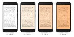 Google Play Books facilita la lectura por la noche - http://www.actualidadiphone.com/google-play-books-facilita-la-lectura-por-la-noche/