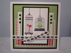 Aviary by mjbsmiley - Cards and Paper Crafts at Splitcoaststampers