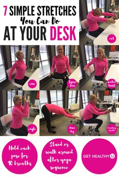 You Can Even Stretch While At Your Desk To Prevent Muscle