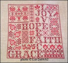 Cross Stitch Designs, Cross Stitch Patterns, Cross Stitch Samplers, Stitching, Words, Cross Stitch, Costura, Canvas, Stitch