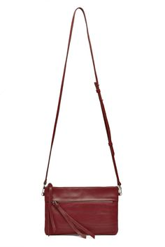 Red X-Body Bag