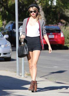 Le look de Taylor Swift dans les rues de Los Angeles