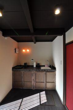 京都の伝統家屋 町家の貸切の宿 豊園くれない庵_キッチン kyoyadoya Japan kyoto machiya inn