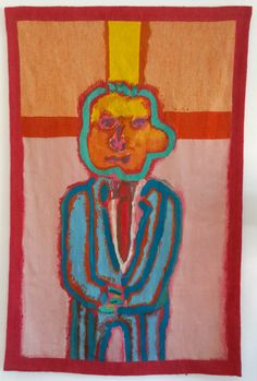 by Robert Hodgins. #tapestry #RobertHodgins #southafricanart #southafricanartist For more please visit www.finearts.co.za