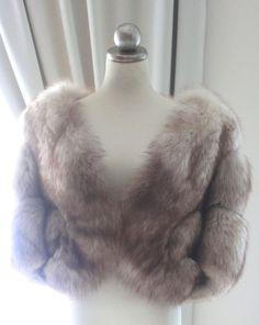 Vintage Fur WrapFox Fur WrapBridal Fur WrapFur by LaBlancFleur, $225.00
