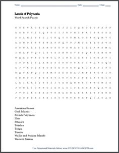 Chinese communist revolution word search puzzle for high school lands of polynesia word search puzzle free to print pdf file fandeluxe Choice Image