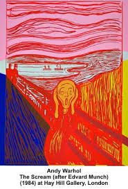 Andy Warhol - The Scream (After Munch), 1984