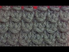 How to Knit the Bamboo Stitch {English Style} - YouTube