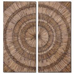 Wood Rings Wall Art