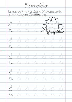 Atividade Letra S pontilhada para imprimir Teaching Cursive Writing, Alphabet Writing Practice, Cursive Writing Worksheets, English Worksheets For Kindergarten, Homeschool Worksheets, Preschool Education, Preschool Learning, Phonics Lessons, Tracing Letters