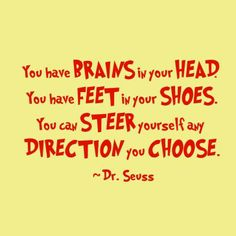 March free Quotes and pictures | Quotation from the Dr. Seuss book, Oh! The Places You'll Go!
