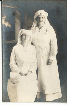 WWI: Nurses. #genealogy #WWI #history