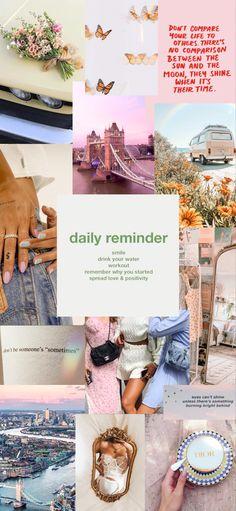 Daily Reminder Vision Board