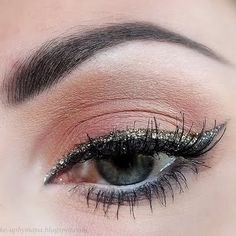 To do with my makeup forever glitter eyeliner