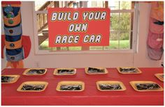 great game ideas, build a racecar, creationary, guess how many legos, and lego toss. Homemaking Fun: A Lego Themed Birthday Party