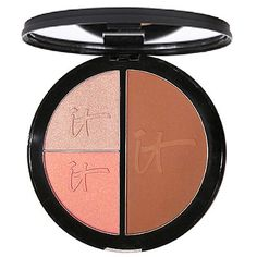 IT Cosmetics Vitality Face Disc… Matte Bronzer, Blush and Highlighter.
